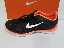 Nike Size 6 M Orange Black Training Sneakers New Womens Shoes