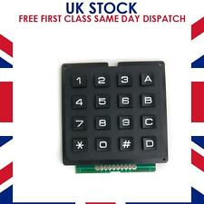 4 x 4 Keypad with 16 Tactile Switch Keys and Full Tutorial