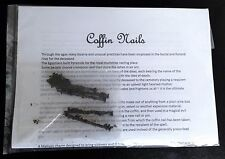COFFIN NAILS - For Use In Spells & Magic - Full Info Sheet - Same Day Despatch