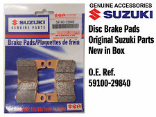 FRONT SET DISC BRAKE PADS GENUINE SUZUKI GSXR600 K6 K7 K8 K9 L0 (06-10)