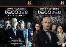 Brad Meltzers Decoded Complete Season 1 2  Series TV DVD Set All History Channel