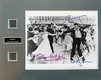 Grease Ver1 Signed Photo Film Cell Presentation
