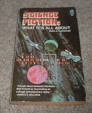1971 Science Fiction What It's All About Sam Lundwall Ace Covert Art Dean Ellis
