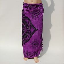 NEW UNISEX PURPLE CELTIC DESIGN SARONG BEACH POOL WRAP THROW PAREO BNIP / sa047