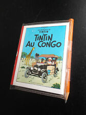 RARISSIME Bloc Notes Livret Tintin auCongo  Graffiting Lombard 1979