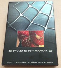 Spider-Man 2 Deluxe Collector's Dvd Box Set + Extras Region 1 Marvel Spiderman