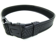 "Bianchi AccuMold Elite Law Enforcement Duty Belt Basket Black 34-40"" Model 7950"