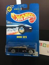 New MOC Hot Wheels Die Cast 1990 BMW 323 M3 Black Convertible #150E
