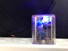Led Light Home Charger Us Plug Transparent Dual USB Wall Charger 1.0/2.1A