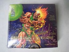 SEALED 1993 THE CREATORS UNIVERSE TRADING CARDS BOX SIGNED BY ARTIST JOE JUSKO