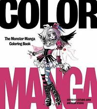 COLOR MANGA BRAND NEW Coloring Book CASE FRESH Gift Quality BEST EBAY PRICE!