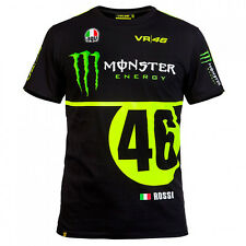 Tee shirt VR46 Valentino Rossi Monster ENERGY 2016 NEUF EMBALLE TAILLE L