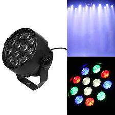 12 LED RGBW Par Stage Light DMX Remote Control for Disco Bar DJ Xmas Decor