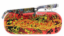 NEW Ed Hardy Eyeglasses EHL 802 Black BLACK  49mm