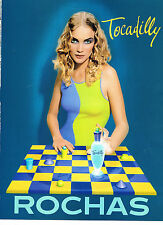 PUBLICITE ADVERTISING  1997   ROCHAS   parfum TOCADILLY