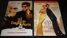 2 DAYS IN PARIS & HOW TO LOSE A GUY IN 10 DAYS-2 movies-ADAM GOLDBERG, K HUDSON