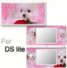 Dog Cute puppy VINYL SKIN DECAL STICKER For DS LITE #6