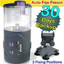 New 30 Day Backup HOPAR H9000 Automatic Digital Aquarium Fish Food Feeder Timer