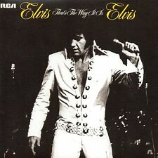 CD Elvis PRESLEY That's the way it is (1970) - Mini LP REPLICA - 12-track CARD S