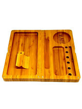 """Raw Backflip Bamboo Magnetic Rolling Tray - 4'""""  X  8 1/2 """" - Authentic- New RYO"""