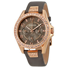 Fossil Riley Multi-Function Gray Dial Ladies Watch ES3888