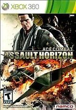Ace Combat: Assault Horizon (Xbox 360, 2011) Ships FREE!  Complete w/Manual!