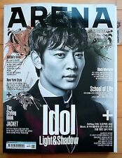 Shinee Minho Cover/Cuttings 13pages  Magazine Clippings/Arena Korea/October 2013
