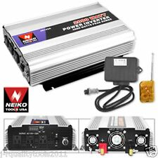 2000/4000 WATT 12 VOLT 12V CAR DC TO AC AUTO POWER INVERTER WITH REMOTE CONTROL