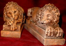 Crouching Lion Vatican Canova art Sculpture Statue