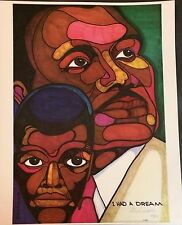 """Martin Luther King """"I Had A Dream"""" Ferdie Pacheco Signed Limited Edition"""