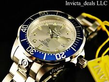Invicta Men's 47mm Grand Pro Diver Automatic Silver Dial Stainless Steel Watch