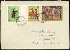 Poland 1970 Cover To Austria #C23415