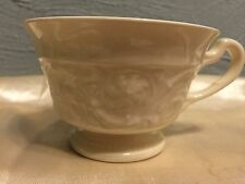 Footed Tea Cup Wedgewood China Etruria Barlaston Patrician Cream