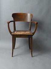 R. Riemerschmid Hellerauer Sessel Stuhl 1919 Jugendstil  gepolstert
