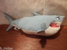 RARO DISNEY alla ricerca di Nemo parlando & spostamento Bruce il SQUALO Morbido Giocattolo Peluche Figura