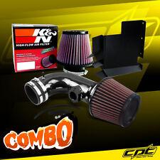 07-12 BMW 328i E90/E92/E93 3.0L 6cyl Black Cold Air Intake + K&N Air Filter