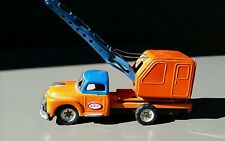 VINTAGE 1953 STUDEBAKER POWER CRANE  TRUCK BY SSS JAPAN TIN FRICTION restore