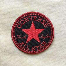 CONVERSE STAR LOGO EMBROIDERY IRON ON PATCH BADGE #RED