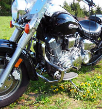 Yamaha XV1600 WildStar / XV1700 RoadStar Silverado Crash bar engine guard + pegs