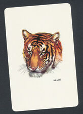 tiger playing card single swap ace of spades - 1 card