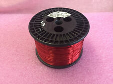 Magnet Copper Wire 20 AWG SNSR 20 AWG Red enameled 11 bs spool Tesla Coil