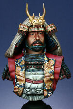SK Miniatures (Former Ademola) Takeda Shingen Samurai 1/9th Bust Unpainted kit