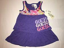 NWT GUESS dress GIRL size S 4 purple