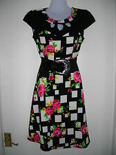 NEW WITH TAGS LADIES SIZE 10 12 PARTY DRESS HOLLIDAYS NIGHTS OUT WEDDING WORK SM