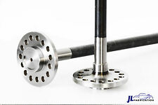 """(2) TDS Ford 9"""" 31 Spline 4140 Chomoly Forged Cut To Length Axles 24"""" Long Pair"""