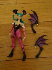 Marvel Vs Capcom Action Figure 1999 Morrigan Bat Wings