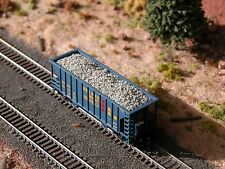 Hay Brothers CHUNK LIMESTONE LOAD - fits Walthers Greenville 2-Bay Hopper Cars