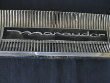 "MERCURY ""MARAUDER ""   GLOVE BOX  BADGE SCRIPT TRIM   C3MB-6206036-C"