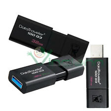 Penna USB 32GB originale Kingston  DataTraveler 100 G3 pen drive chiavetta