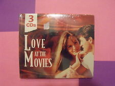 Love at the Movies [Madacy 3 Disc] by Various Artists, Brand New, Awesome CD!!